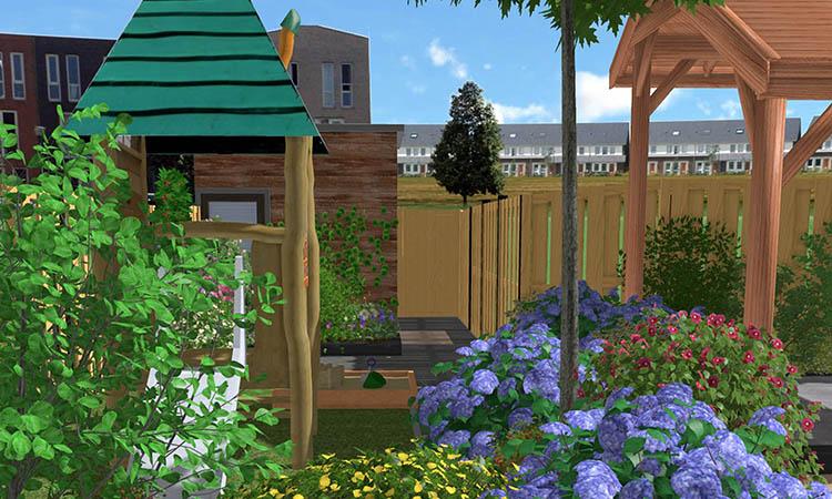 Tuin Met Ruimte Voor De Kinderen…