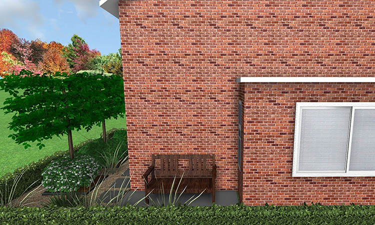 Heerlijke Nieuwe Tuin Met Prachtige Houten Vlonders, En Mooie Warme Hardstenen Tegels In Amstelveen